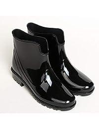 [todaysunny] レインシューズ レディース レインブーツ 軽量 ヒール 長靴 カジュアル おしゃれ 防水 滑り止め 雨靴 梅雨対策 快適ノンスリップ 大きいサイズ