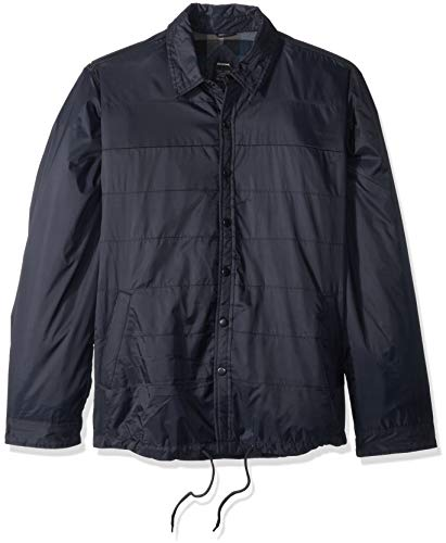 Dickies Mens TJ243 Modern Fit Nylon Shirt Jacket Jacket - Blue - Medium