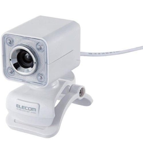【2011年モデル】ELECOM WEBカメラ 130万画素 1/4インチCMOSセンサ ガラスレン...