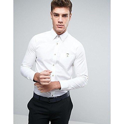 テッドベーカー トップス シャツ Ted Baker Slim Smart Shirt White