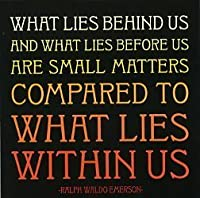 What Lies Within Us - Emerson Color Magnet by Quotable Cards