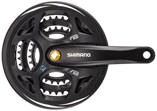 SHIMANO(シマノ) FC-M311 8/7S チェーンガード付 48X38X28T 175mm ブラック EFCM311E888CL