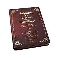 クールブックテーマポータブルメモノートブックノートメモ帳B5レッド