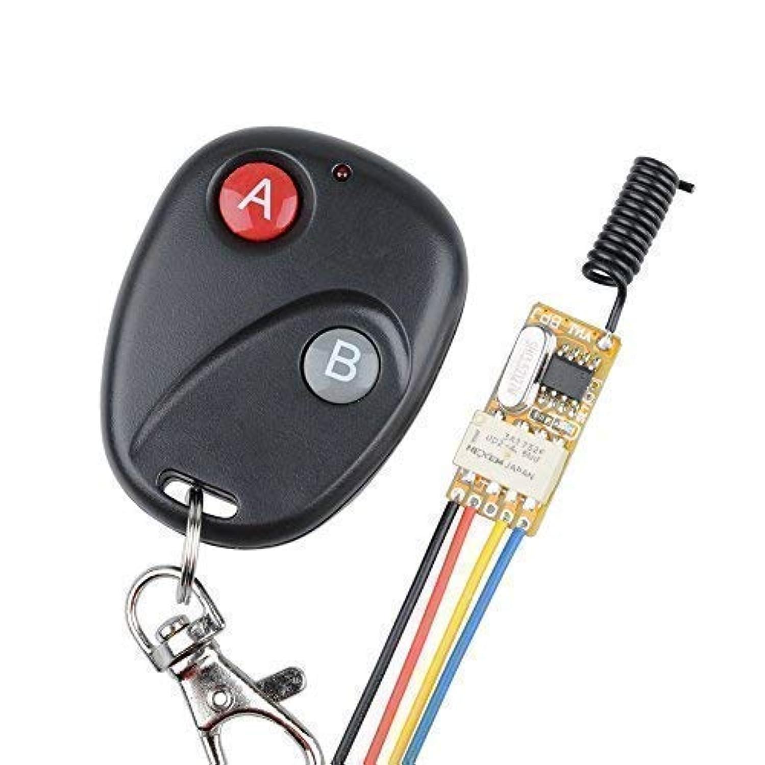 防止暗唱する記念ワイヤレススイッチリモートコントロール電源LEDランプコントローラMicro受信機送信機システム