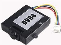 Walkera QR X400 DV04 Camera with Micro SD Recorder FPV Video Transmitter Black
