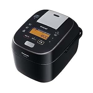 パナソニック 5.5合 炊飯器 圧力IH式 Wおどり炊き ブラック SR-SPA108-K