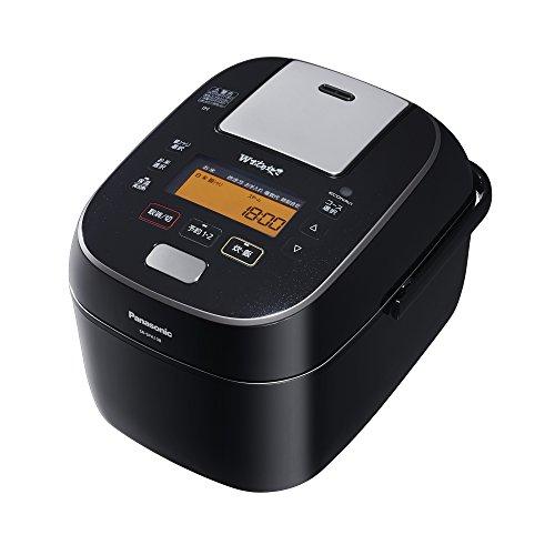 RoomClip商品情報 - パナソニック 5.5合 炊飯器 圧力IH式 Wおどり炊き ブラック SR-SPA108-K
