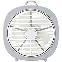 SHANGRUIYUAN-Mini Fan Multifunction Rechargeable Fan,3-Speed Adjustable Portable Mini Fan for Home/Office Air Cooling Fan Dropshipping (Color : Milk White)
