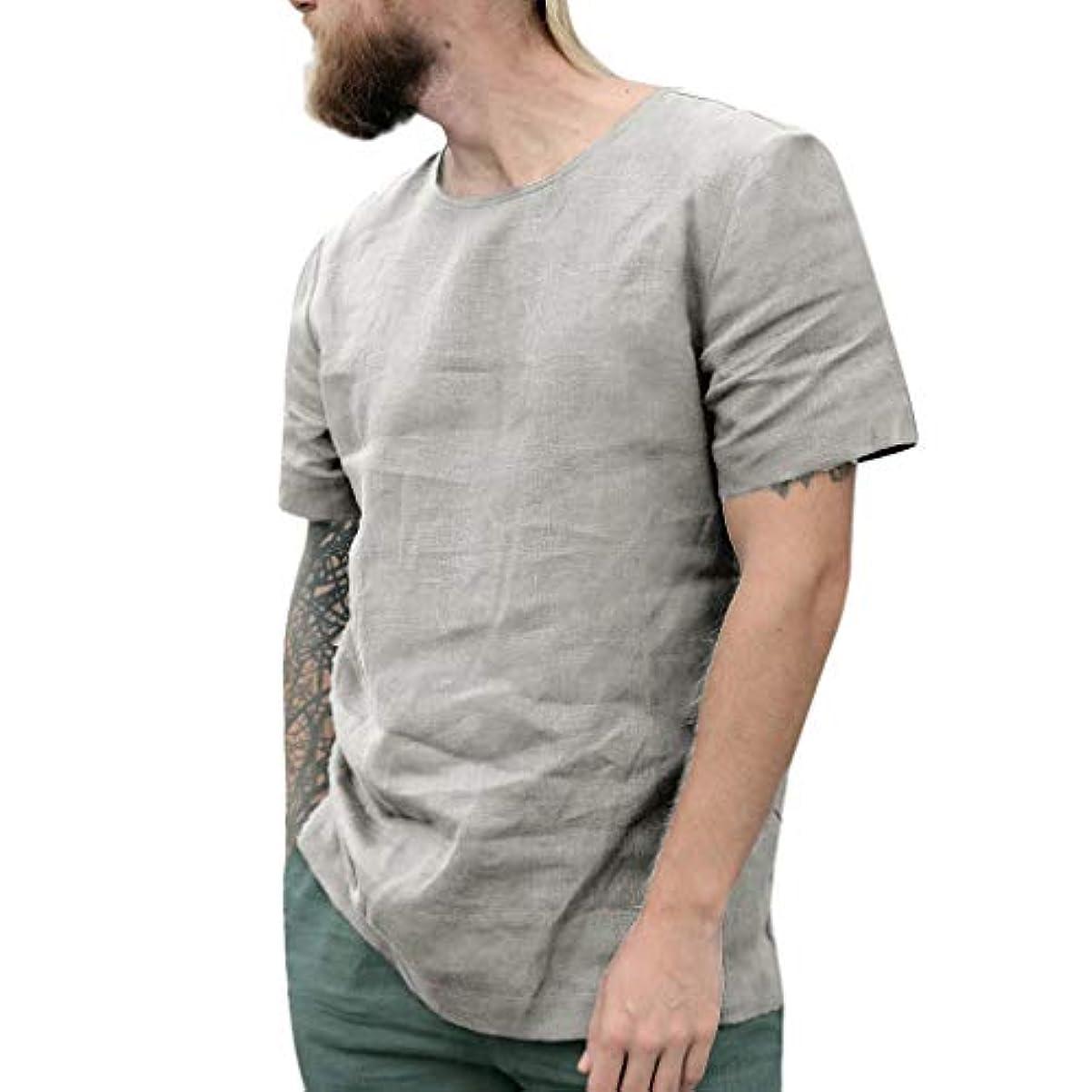 ラダトレイル本当のことを言うとシャツ 夏服 半袖 メンズ ゆったりシャツ インナー tシャツ 快適な 吸汗速乾 薄手 伸縮性 涼しい ベーシック カジュアル メンズ コンプレッションウェア 補正下着 ダイエット 半袖 メンズ 三分袖 丸首 コットンとリネン製