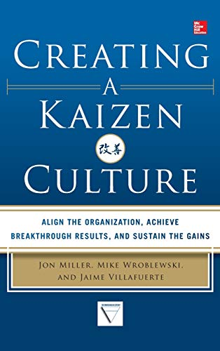 Download Creating a Kaizen Culture: Align the Organization, Achieve Breakthrough Results, and Sustain the Gains 0071826858