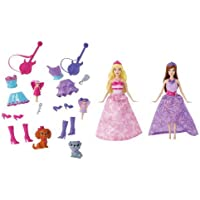輸入バービー人形 Barbie The Princess and The Popstar Mini-Doll Giftset [並行輸入品]
