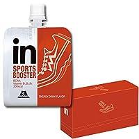 [Amazon限定ブランド]BODY SUPPORT W inゼリー SPORTS BOOSTER エナジードリンク味 (120g×6個) スポーツ専...