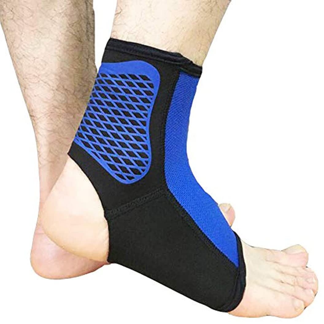 売る連想剃る足首のサポート、伸縮性のある布を織り込んだ、運動に適した、慢性的な足首のひずみ、捻挫の疲労などを防ぎます。