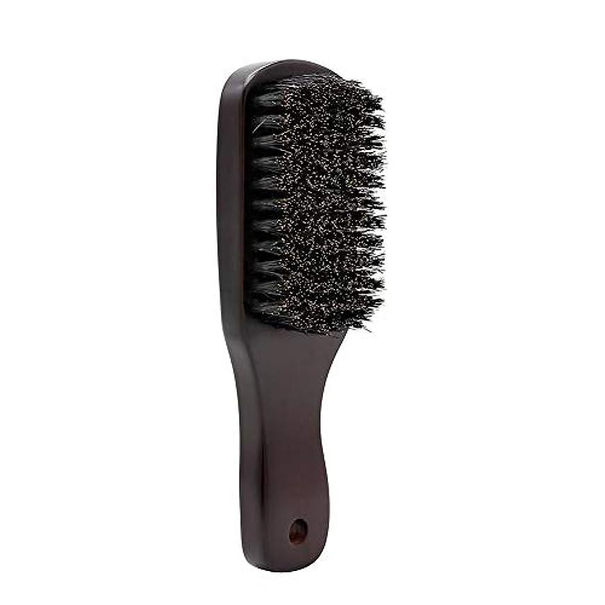 男性用ひげブラシ ひげ櫛 天然豚毛製 変形しにくい 耐湿 耐久性 丈夫 長持ち 使いやすい Styleshow