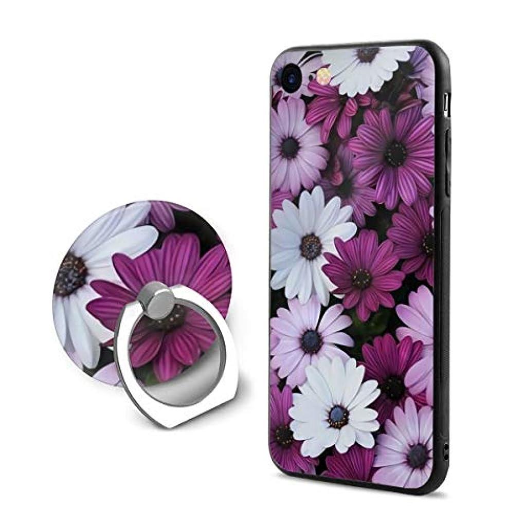ライセンスディプロマ何十人も花柄 Iphone6Plus ケース/Iphone6s Plus ケース Cases リング付き ソフト TPU 軽量 薄型 擦り傷防止 取り出し易い 携帯カバー 落下防止 柔らかい オシャレ 耐衝撃 ケース カバー