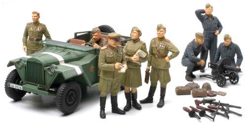 1/48 スケール限定商品 ソビエト GAZ-67B・将校セット