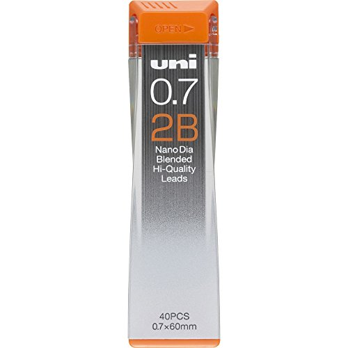 三菱鉛筆替芯 ユニ0.7-202ND 2B