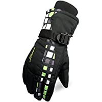 スキーグローブ メンズ アウトドア 5本指タイプ 撥水 透湿 防寒 手袋 冬用 滑り止め 登山 バイク スノーボードグローブ