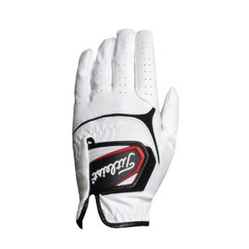 TITLEIST(タイトリスト) ゴルフグローブ 手袋  スーパーグリップ  左手用 TG37WT ホワイト 24cm