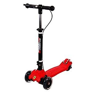 スクーデリアフェラーリ(Scuderia Ferrari) ツイストスクーター LEDタイヤ ハンドブレーキ 方位磁石付 FXK50