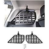 FMtoppeak Car Interior Accessaries Car Tailgate Trunk Door Shelf Storage Rack for Toyota 4 Runner 2010 UP