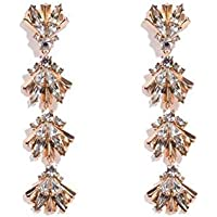 Colette Hayman - Diamante Fan Drop Earring