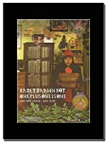 - Badly Drawn Boy - One Plus One is One - つや消しマウントマガジンプロモーションアートワーク、ブラックマウント Matted Mounted Magazine Promotional Artwork on a Black Mount