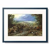 ヤン・ブリューゲル(父) Jan Brueghel de Oude 「The Robbery」 額装アート作品