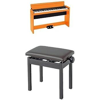 KORG 電子ピアノ LP-380-CP024 88鍵 オレンジ 椅子セット
