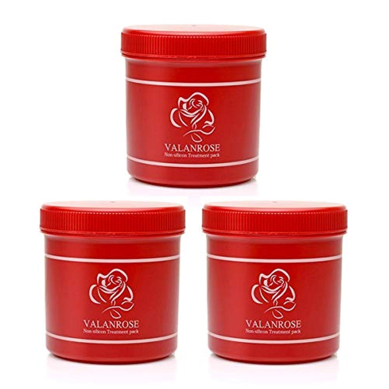 バランローズ ノンシリコントリートメントパック(Non-slicon Treatment pack) 500g 3個セット