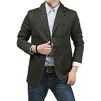 Risnow Mens Slim Fit Three Button Travel Blazer Wrinkle Resistant Simple Stylish Sport Coat