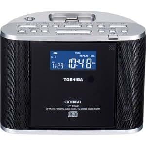 TOSHIBA CDドックラジオ CUTEBEAT TY-CR60(S)