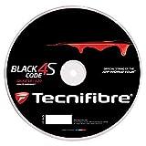 テクニファイバー(Tecnifibre) テニス ストリングス BLACK CODE 4S ゲージ1.25mm ブラック(BK) ロール200m TFR517