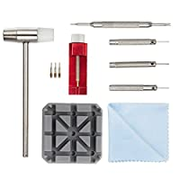 Watch Strap Removal Tool Kit - 11pcs Watch Link Remover Set Watch Band Adjustment Tool