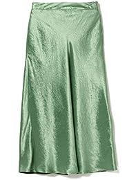 (デミルクス ビームス)Demi-Luxe BEAMS スカート サテン フレアスカート レディース