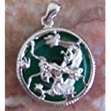 Jade Dragon Pendants-without chain