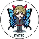 綾人サロン・公式キャラクターステッカー【2枚入】75㎜×75㎜