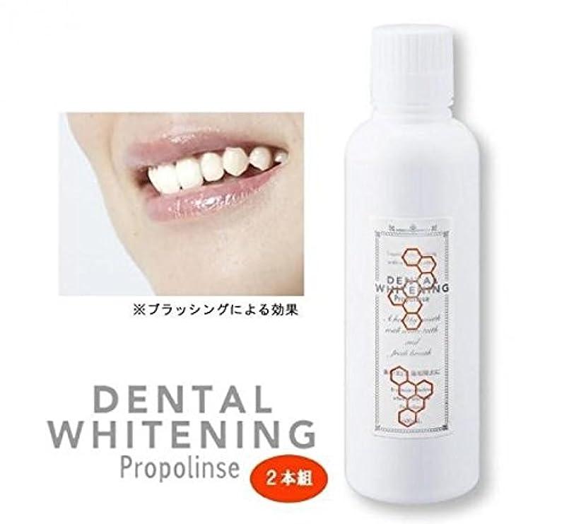 プロポリンス デンタルホワイトニング 600ml×2本