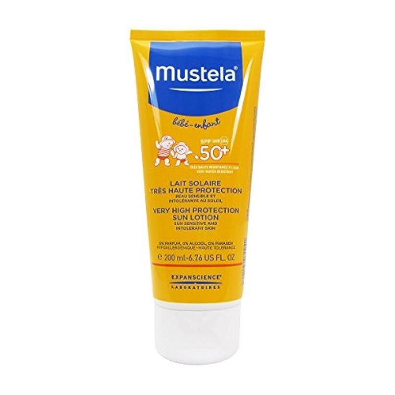 収入レトルト慣性ムステラ Very High Protection Sun Lotion SPF50+ - Sun Sensitive & Intolerant Skin 200ml/6.76oz並行輸入品