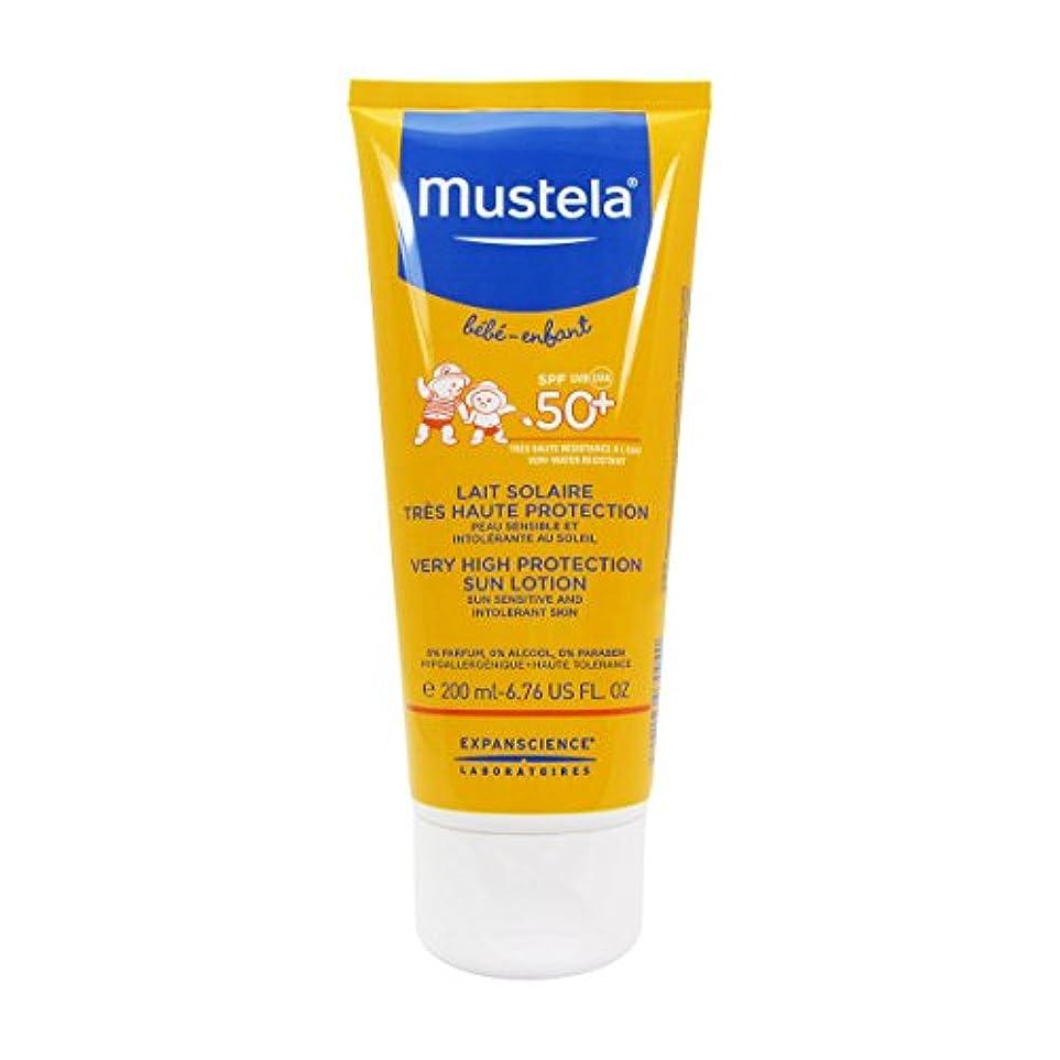 真空新鮮な宗教ムステラ Very High Protection Sun Lotion SPF50+ - Sun Sensitive & Intolerant Skin 200ml/6.76oz並行輸入品
