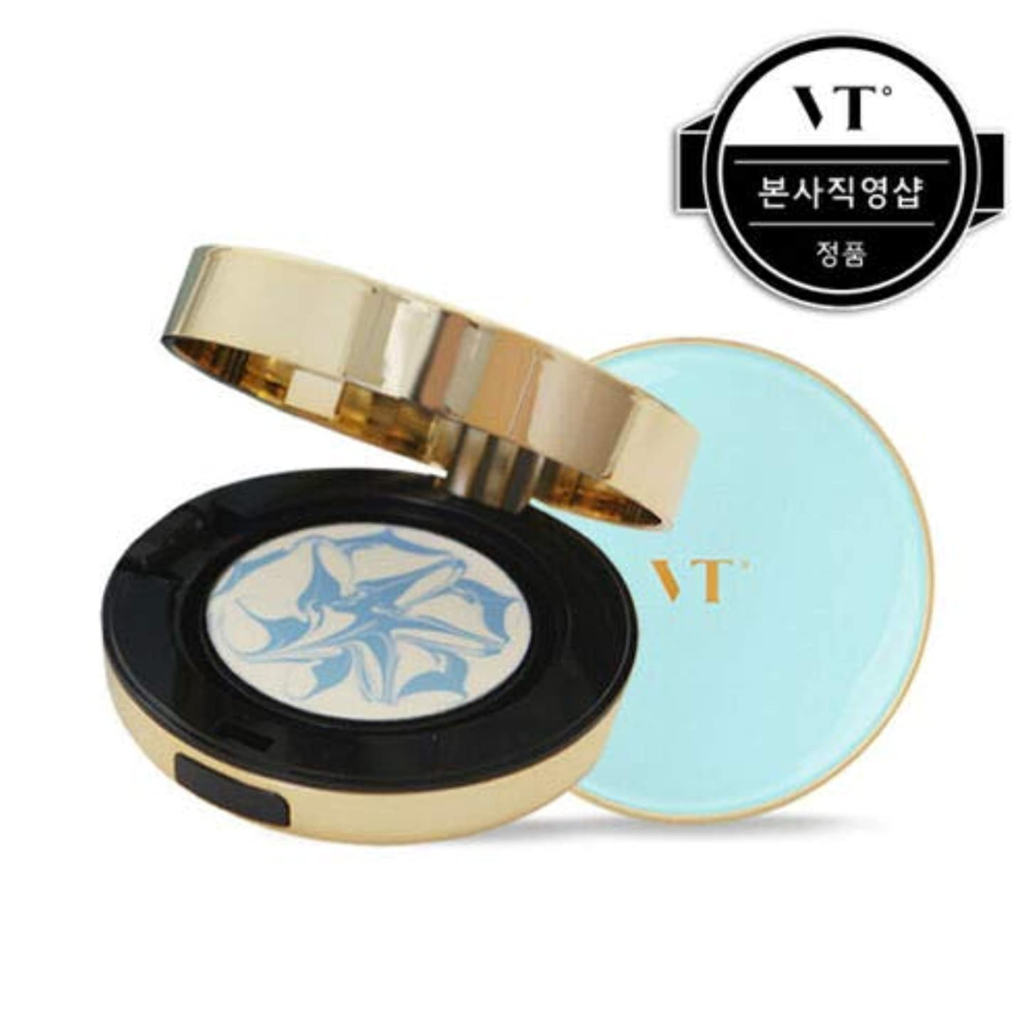 艦隊できた憂鬱VT Cosmetic Essence Sun Pact エッセンス サン パクト 本品11g + リフィール 11g, SPF50+/PA+++