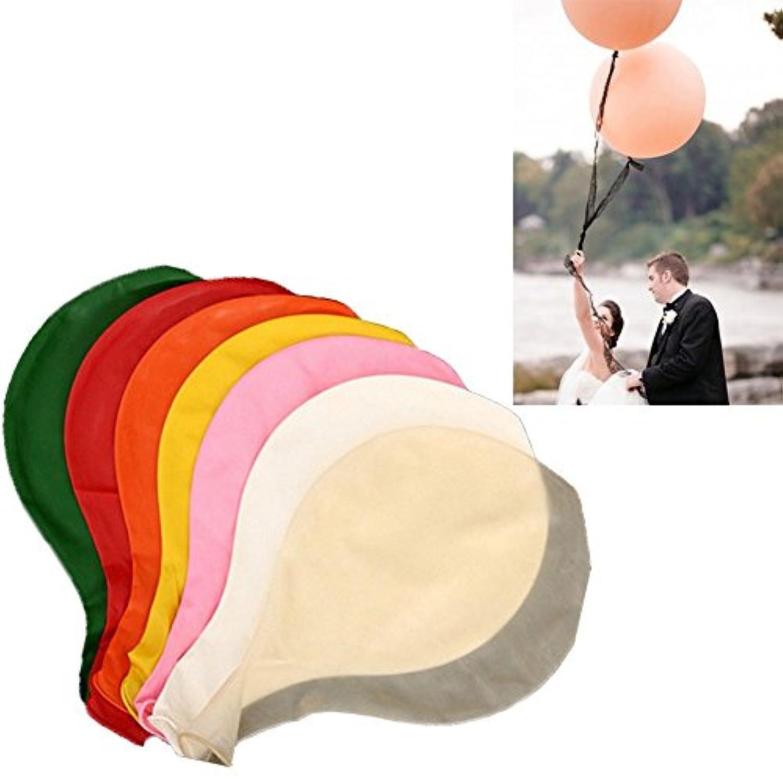 超巨大 風船 バルーン 10個セット 結婚式 お祝い 誕生日 2次会 可愛い お祭り イベント 子供 インパクト絶大 超巨大バルーン 80cm