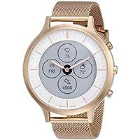FOSSIL womens Quartz Smart Watch Rose Gold Digital Display,FTW7014