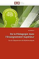 de la Pédagogie Dans l''enseignement Supérieur (Omn.Univ.Europ.)