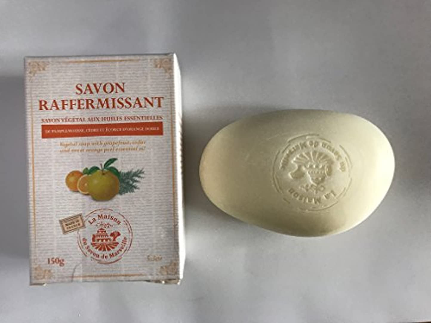とても海藻否認するSavon de Marseille Soap with essential oils,Firming 150g