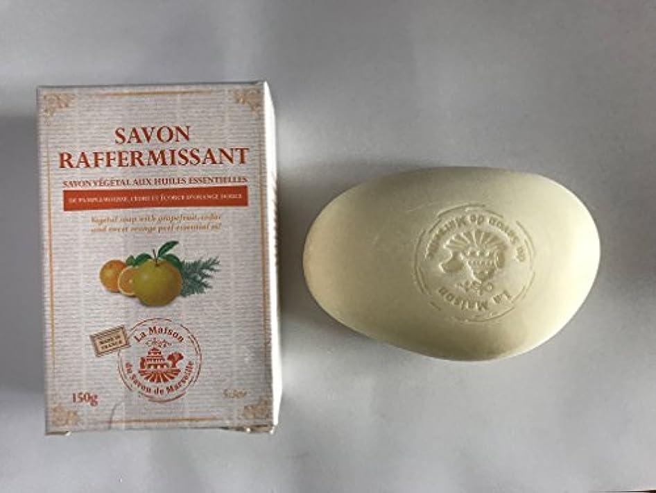 通貨図ハングSavon de Marseille Soap with essential oils,Firming 150g