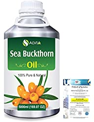 Sea Buckthorn (Hippophae rhamnoides) Natural Pure Undiluted Uncut Carrier Oil 5000ml/169 fl.oz.