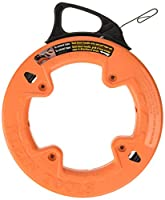 (15m) - Fish Tape, 15m Steel, Great for Heavy Duty Wire Pulls, Lasser Etched for Conduit Measuring Klein Tools 56001