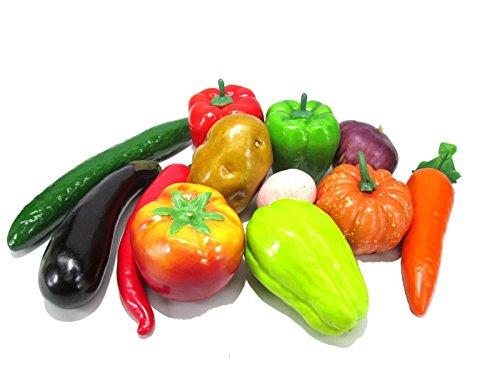 どっさり お野菜 & タマゴ 模型 食品サンプル 12種類セット ディスプレイなどに...