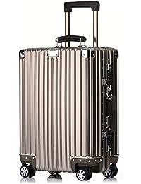 クロース(Kroeus)スーツケース アルミ合金ボディ 無段階調節 防塵カバー付属 マット仕上げ 【TSAロック 日本語取扱説明書 1年保証】